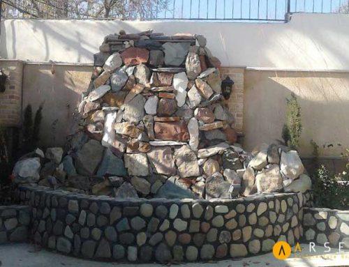 ساخت آبنما سنگی