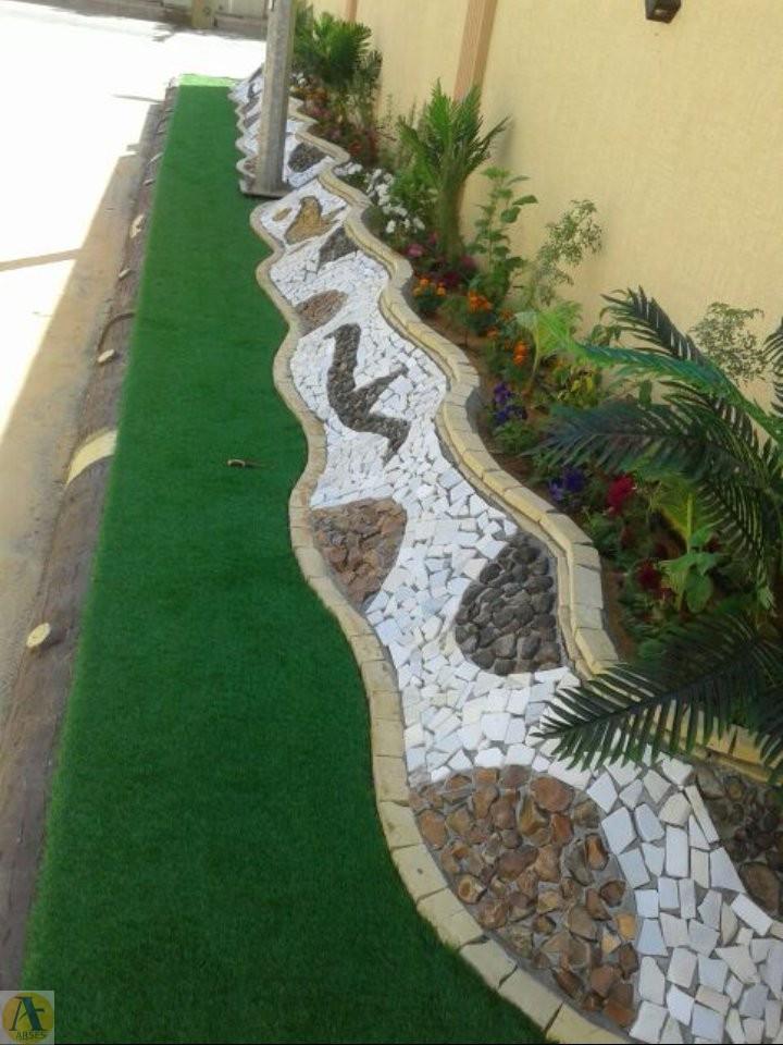 محوطه سازی حیاط خلوت