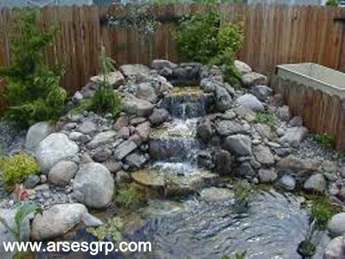 ساخت آبنما باغی