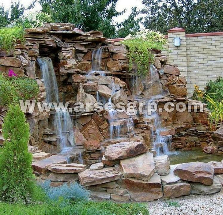 ساخت آبنما صخره ای کلاسیک