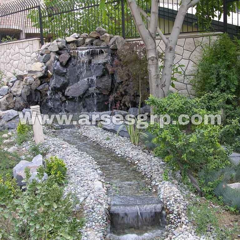 ساخت برکه در باغ