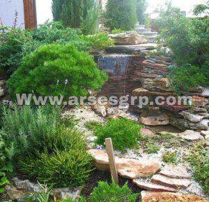 محوطه سازی حیاط ویلا در شهریار