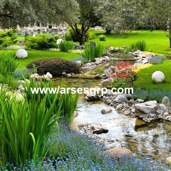 محوطه سازی باغ کلاسیک