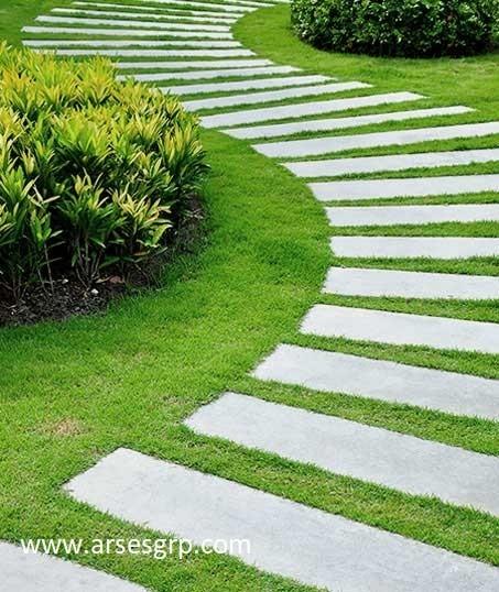 طراحی محوطه سازی باغ