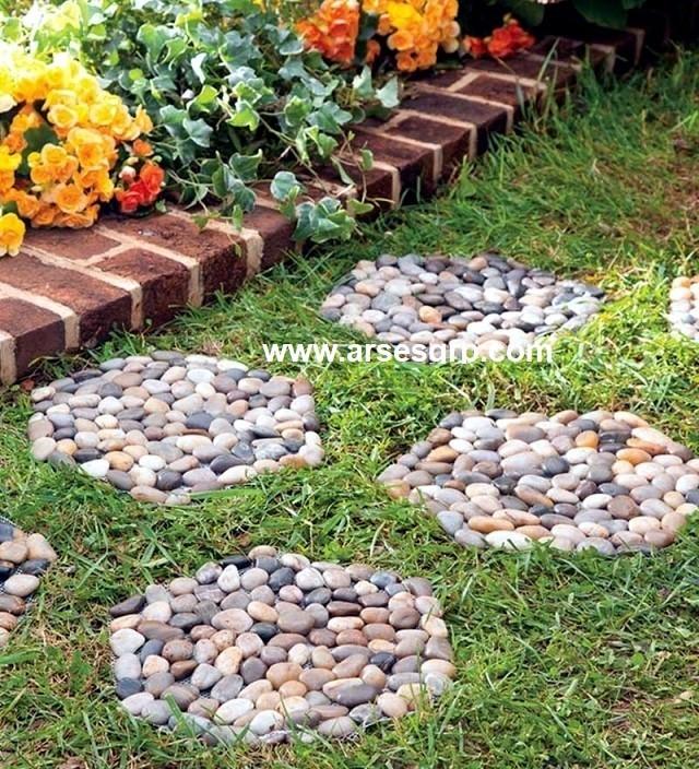 هزینه محوطه سازی با سنگ حیاط ویلا