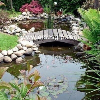 محوطه سازی باغ با سنگ