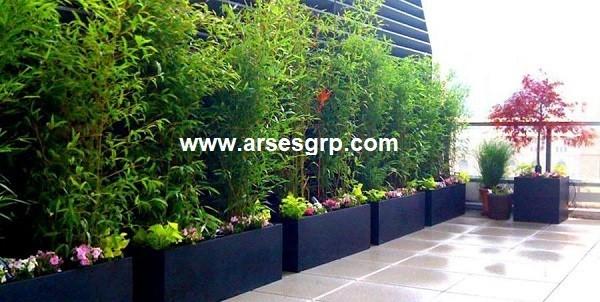 هزینه ساخت باغچه در پشت بام