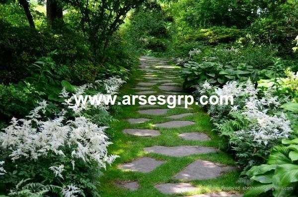 محوطه سازی باغ ایرانی