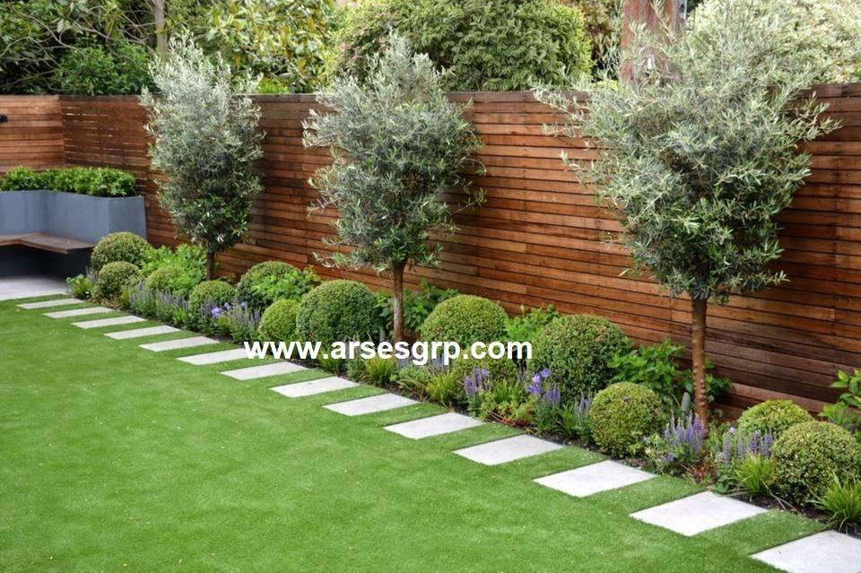 طراحی محوطه سازی حیاط خلوت