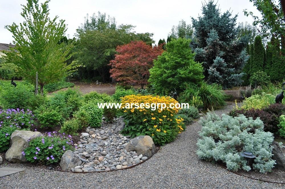 طراحی و اجرای محوطه سازی باغ در سال ۹۹