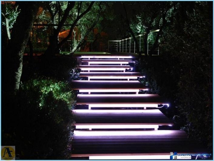 روشنایی محوطه سازی