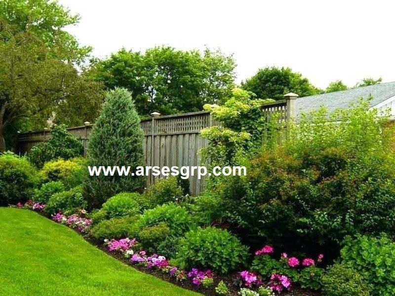 اجرای محوطه سازی باغ