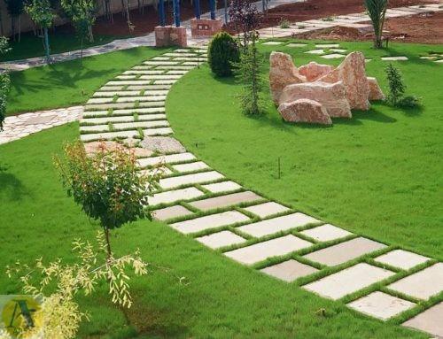طراحی محوطه سازی فضای سبز