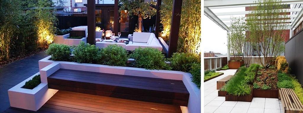 هزینه محوطه سازی باغ پشت بام چقدر است؟ 3