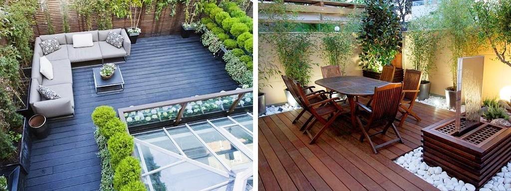 هزینه محوطه سازی باغ پشت بام چقدر است؟ 2