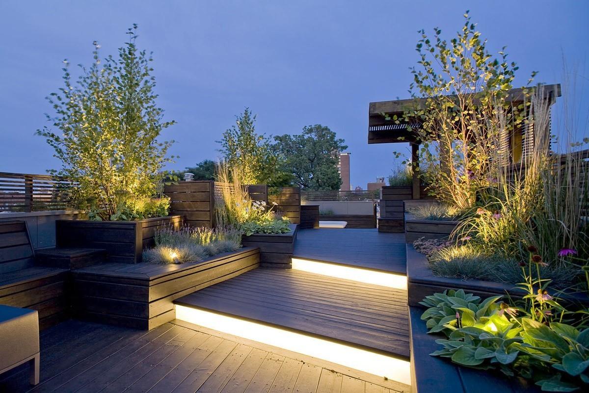 هزینه محوطه سازی باغ پشت بام چقدر است؟ 1