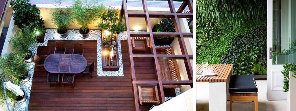 هزینه محوطه سازی باغ پشت بام چقدر است؟ 4