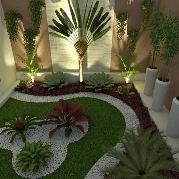 طراحی محوطه باغچه سنتی