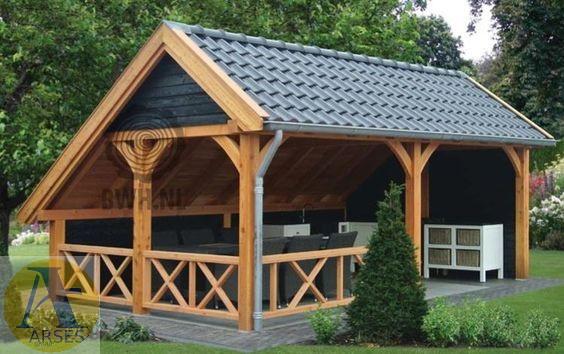 ساخت آلاچیق در پشت بام