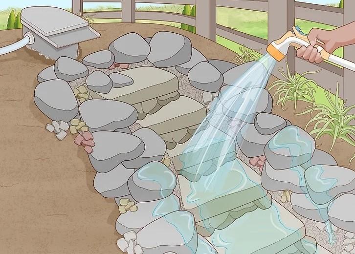 ساخت آبنما مرحله 17