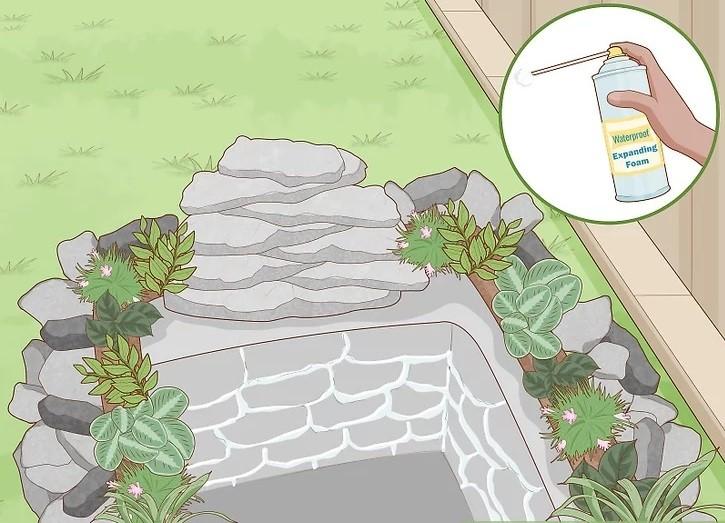 مرحله 3 ساخت آبنما