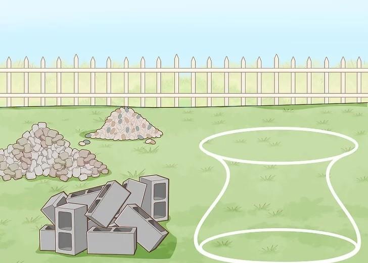 مرحله 7 ساخت آبنما