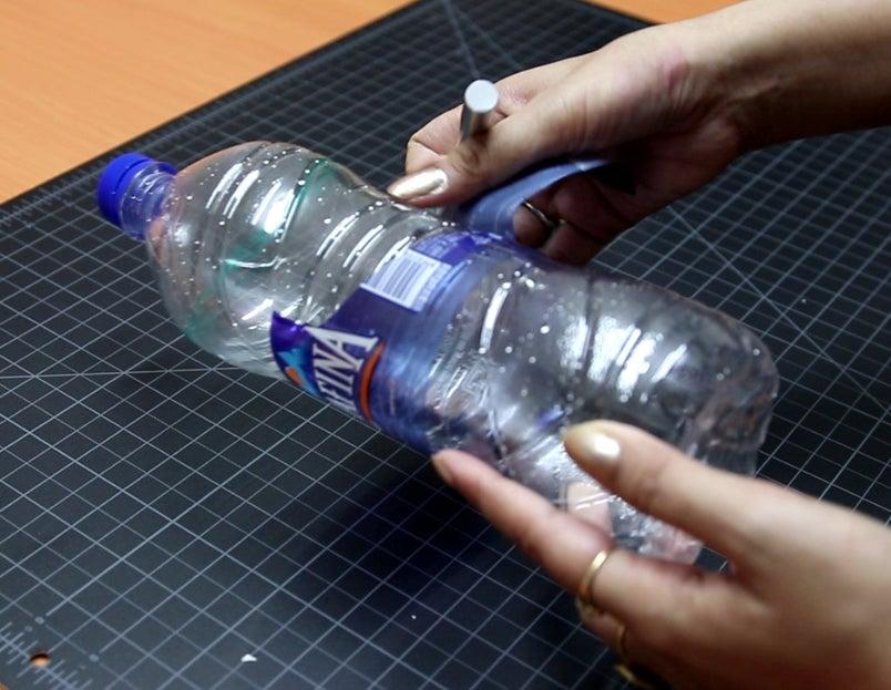 ساخت آبنما با بطری