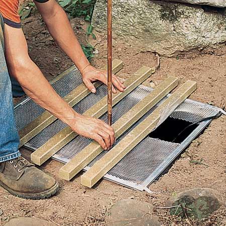 ساخت آبنما سنگی مرحله 6