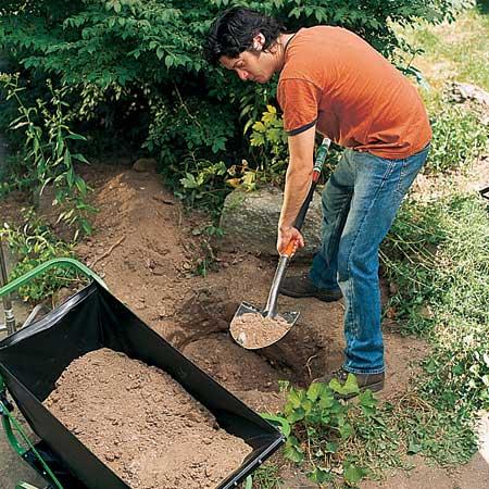 مراحل ساخت آبنما سنگی