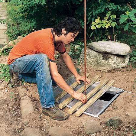 ساخت آبنما سنگی مرحله 5