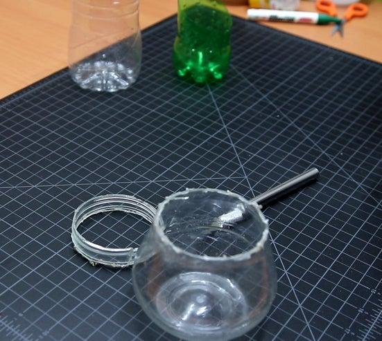 هزینه ساخت آبنما با بطری پلاستیک