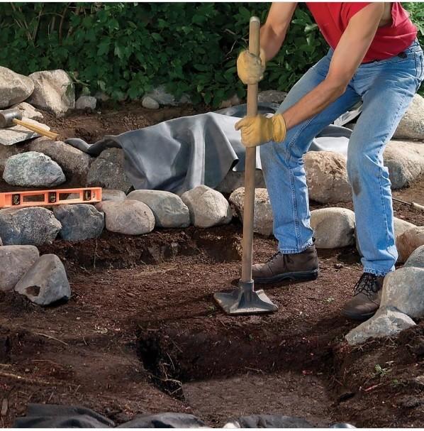 ساخت آبنما در حیاط خلوت
