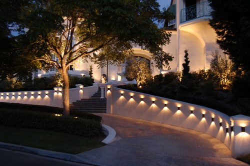 Lighting in landscaping
