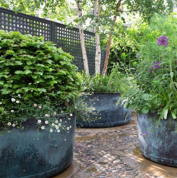 ایده محوطه سازی باغ