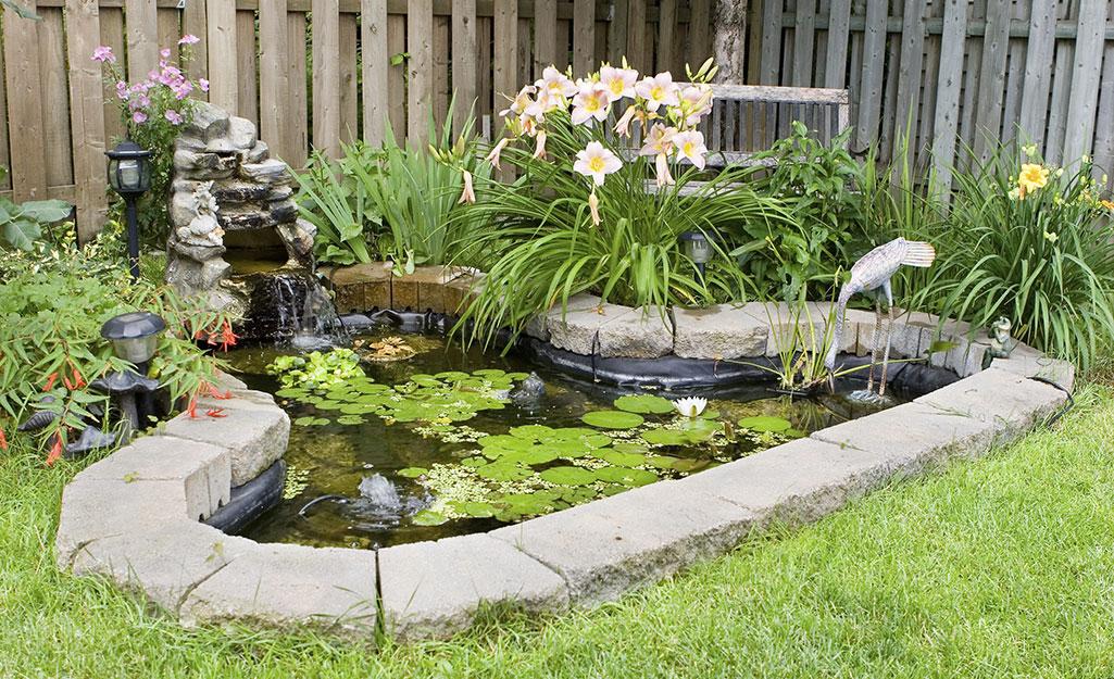محوطه سازی در حوضچه شما